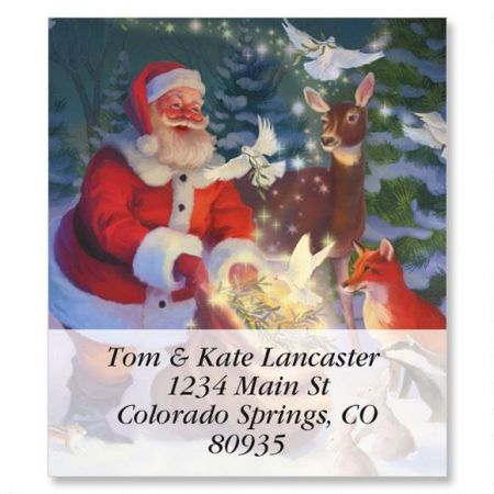 Christmas Peace Select Address Labels