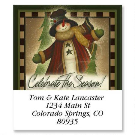Celebrate The Season Select Address Labels
