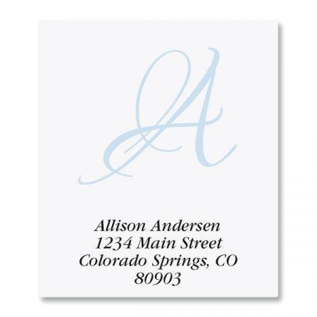 Initial Select Address Labels