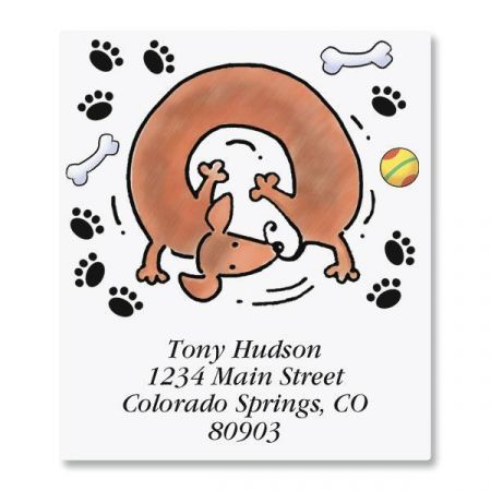 Dachshund Select Address Labels