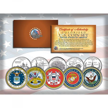 US Military Coin Set