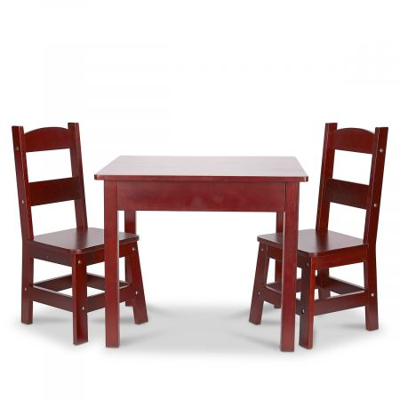 Wooden Table and Chairs by Melissa & Doug®