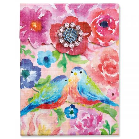 Painterly Roses Mini Notepad