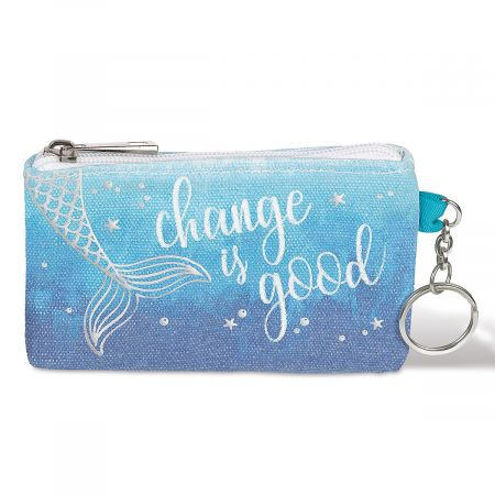 Change Is Good Keychain Purse