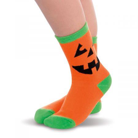 Jack-O'-Lantern Children's Socks