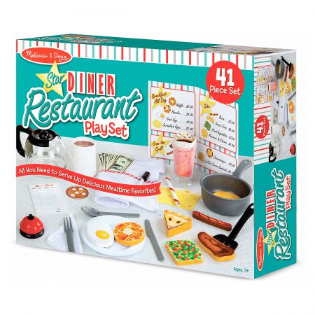 Melissa & Doug's® Star Diner Restaurant Play Set