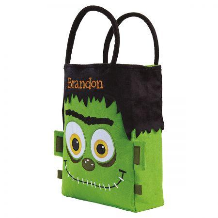 Personalized Frankenstein Treat bag side
