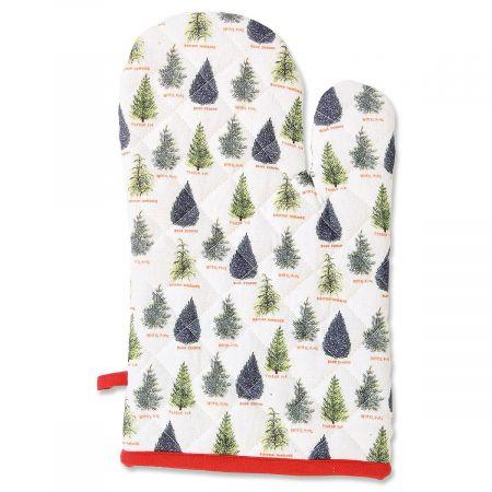 Pine Trees Hand Mitt