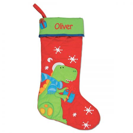 Personalized Dino Christmas Stocking by Stephen Joseph®