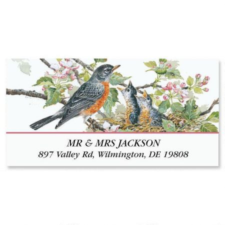 Garden Friends Deluxe Address Labels  (6 designs)