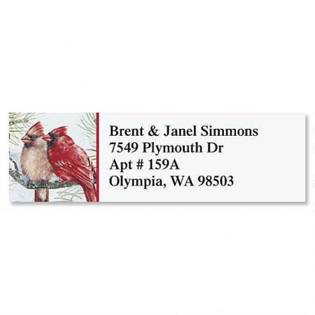 Garden Friends Classic Address Labels  (6 Designs)