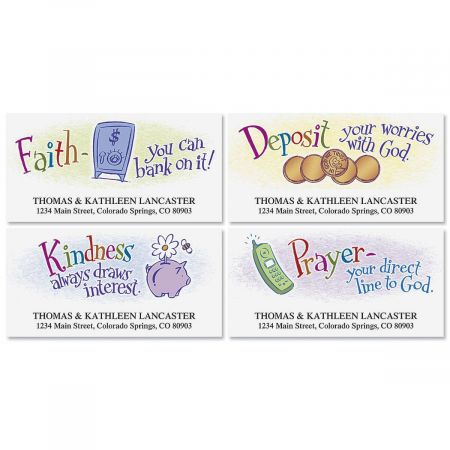 Blessed Exchanges  Deluxe Address Labels  (4 designs)