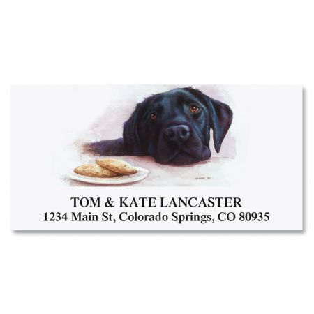 dog breed deluxe address labels current catalog