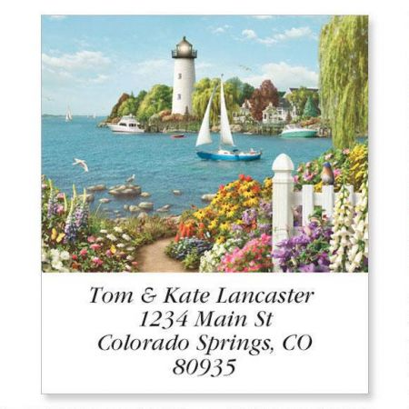 Splendid Lighthouses Select Address Labels  (12 designs)