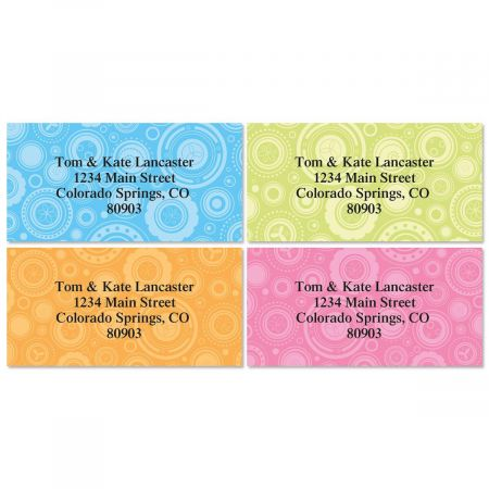 Ultra Chic Border Address Labels  (4 designs)