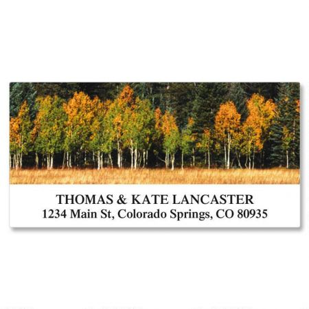 Autumn Colors Deluxe Address Labels  (24 Designs)