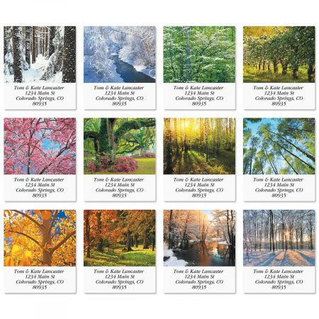 In The Trees Select Address Labels  (12 designs)