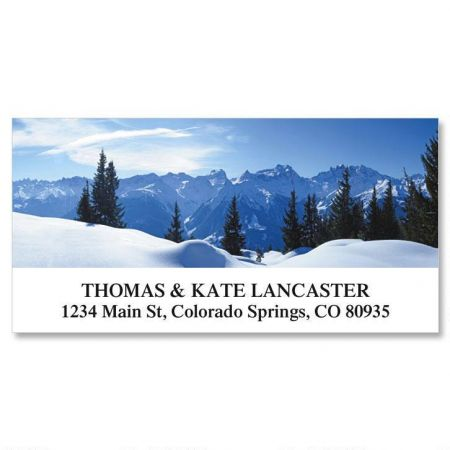 Nature's Art Deluxe Address Labels  (12 designs)
