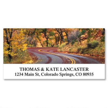 Ramblin Roads Deluxe Address Labels  (24 designs)