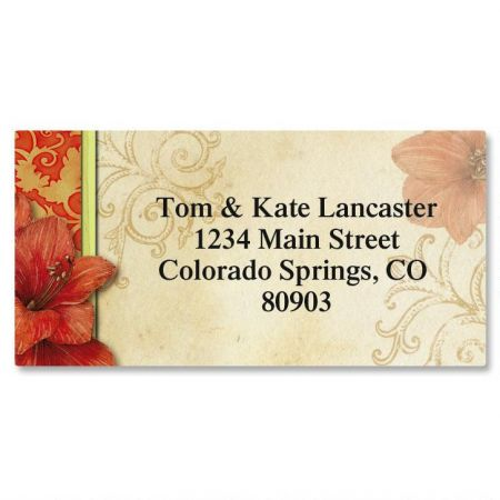 Every Season Border Address Labels  (12 Designs)