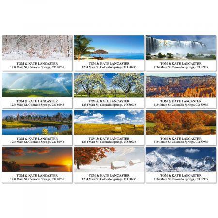 Naturescape Deluxe Address Labels  (12 designs)