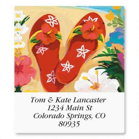 Tropicana Select Address Labels  (6 Designs)