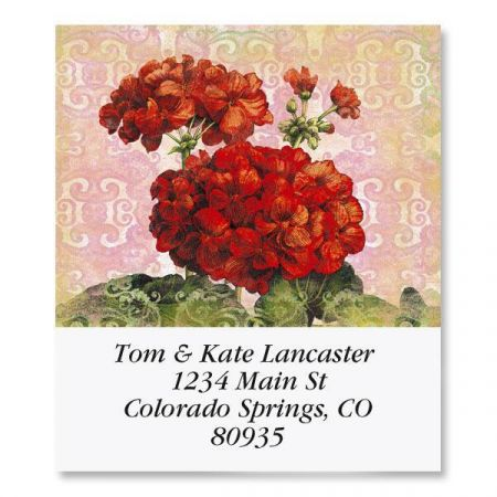 Floral Reflections Select Address Labels  (8 Designs)
