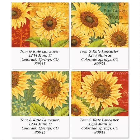 Jardin Du Soleil Select Address Labels  (4 Designs)
