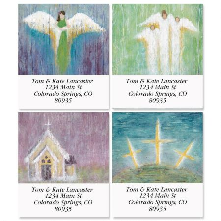 Heaven Awaits Select Address Labels  (4 Designs)