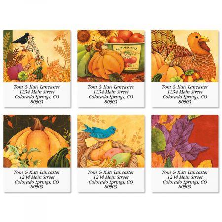 Welcome Harvest Select Address Labels  (6 Designs)