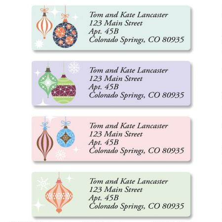 Ornamental Classic Address Labels  (4 Designs)