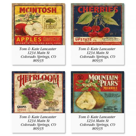 Market Fresh Select Address Labels  (4 Designs)