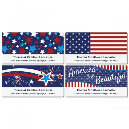 Allegiance Deluxe Address Labels  (4 Designs)