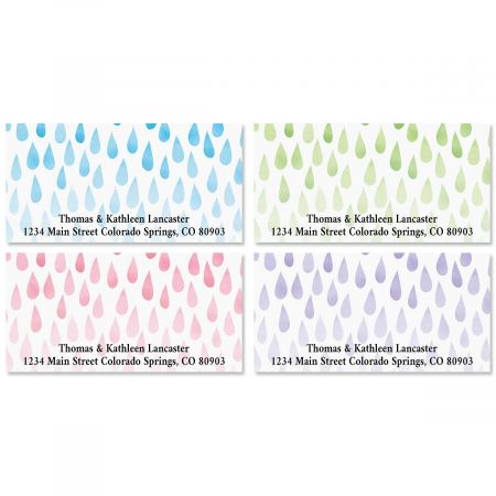 Droplets Deluxe Address Labels