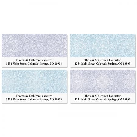 Mandala Deluxe Address Labels (4 Designs)
