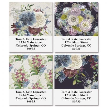 Fall Florals Select Address Labels (4 Designs)