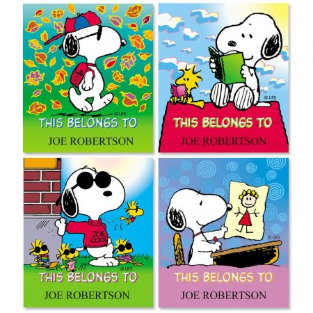 PEANUTS® Personalized ID Labels  (4 Designs)