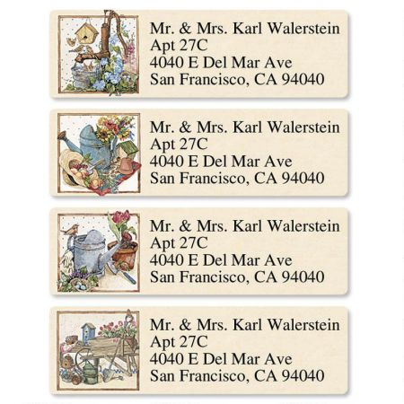 Sandi's Backyard Classic Address Labels  (4 designs)
