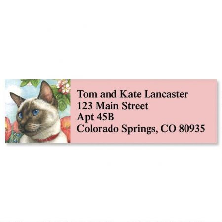 Feline Artistry  Classic Address Labels  (6 designs)