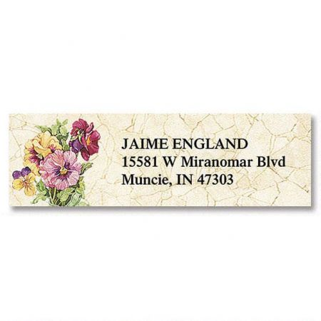 Sandi's Heirloom Bouquets Classic Address Labels  (6 designs)