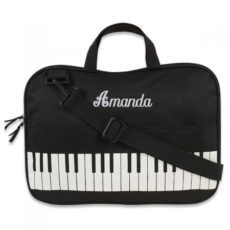 Personalized Water-Resistant Music Tote