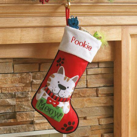Personalized Pet Christmas Stockings