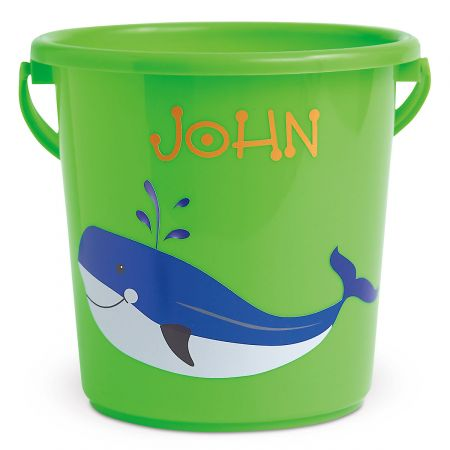 Fun-in-the-Sand Bucket-Green-Z814520A