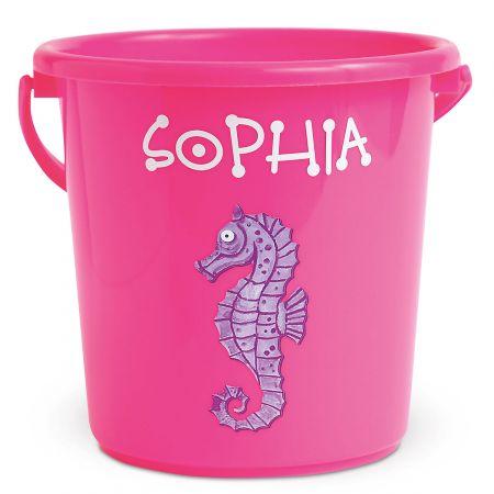 Fun-in-the-Sand Bucket-Pink-Z814520B