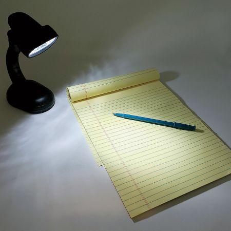 Cordless LED Desk Lamp in Black