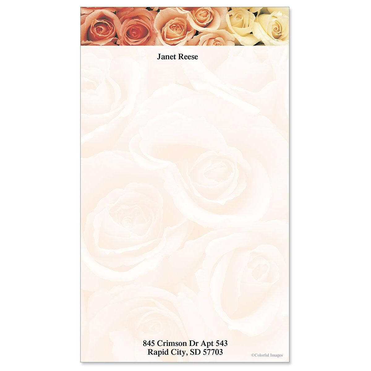 Peaches & Cream Custom Memo Pads
