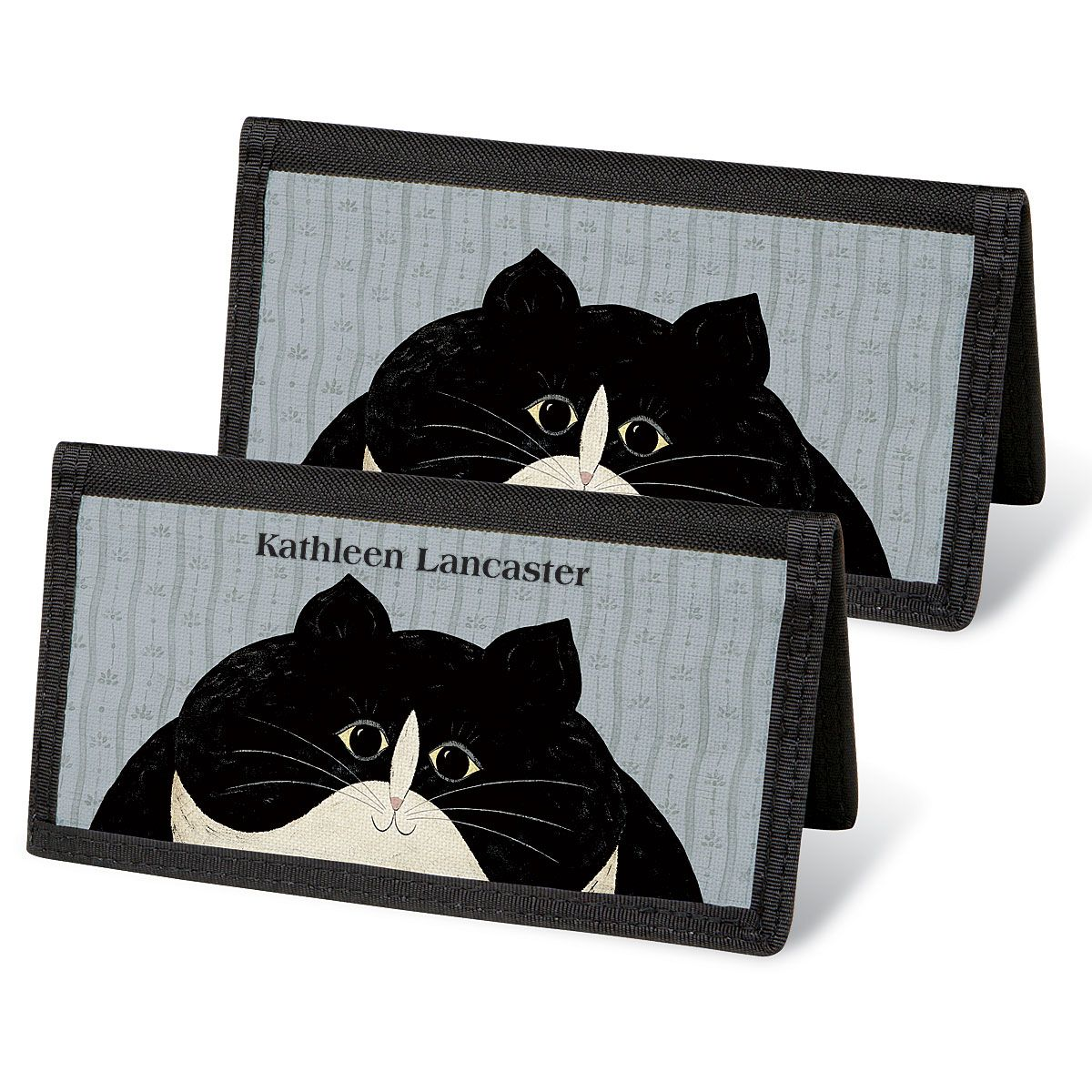 Cozy Cats by Warren Kimble  Checkbook Covers