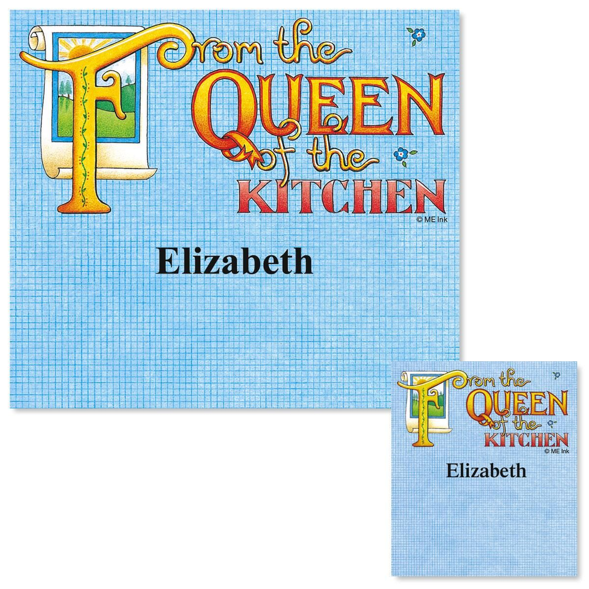 Queen of the Kitchen Canning Jar Labels