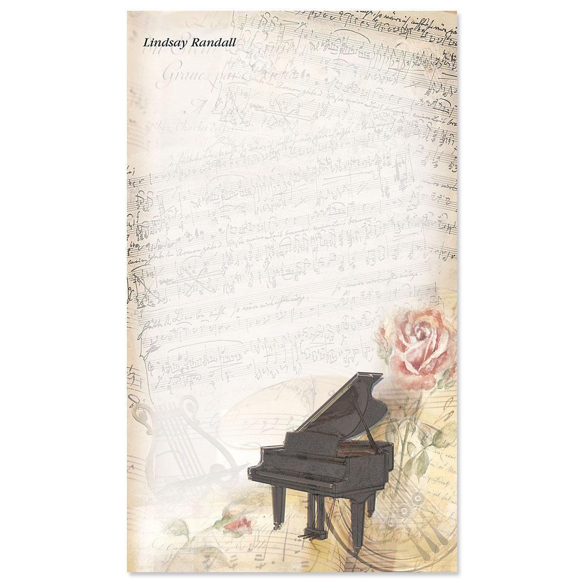 Sweet Melody Notepad