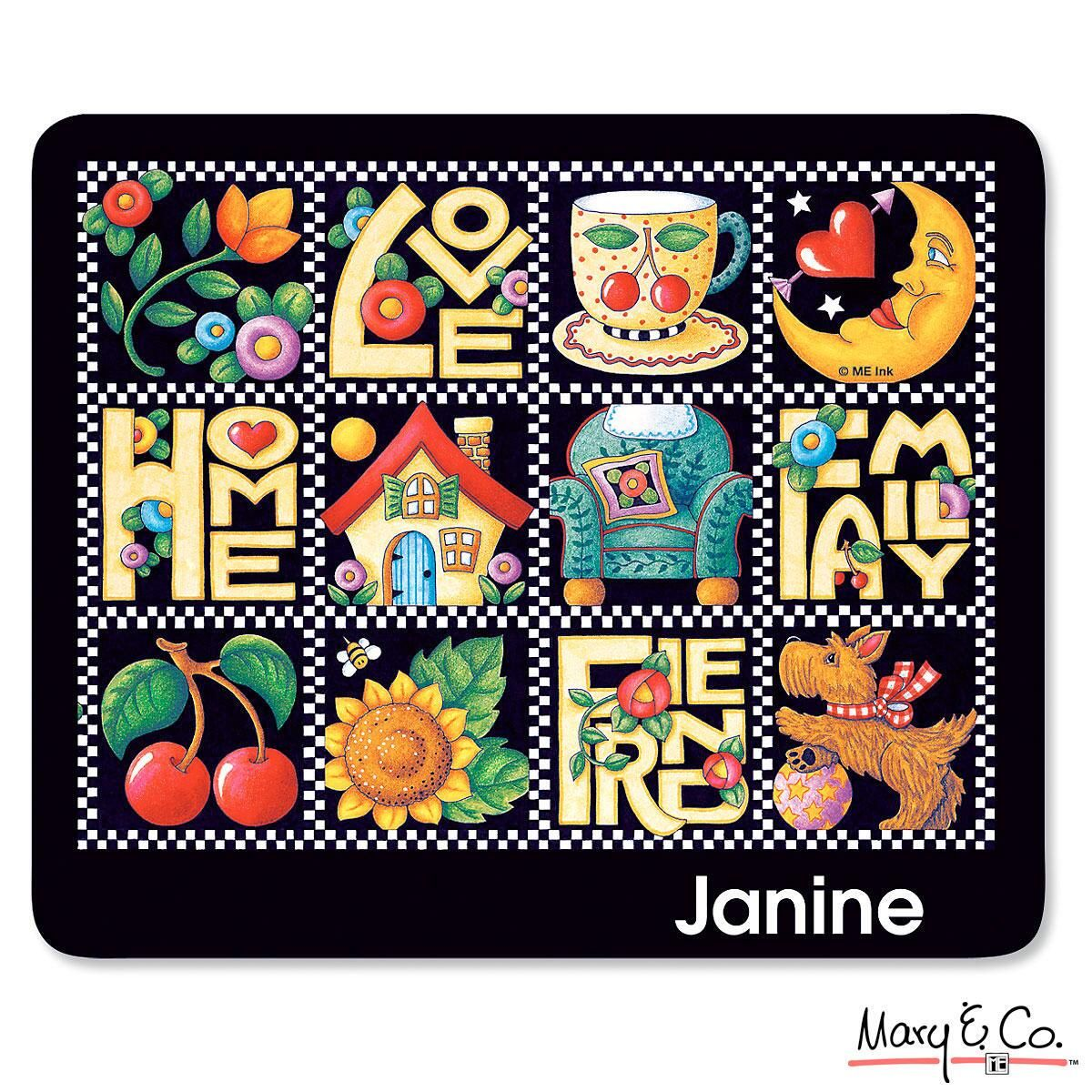Mary Engelbreit® Love, Home, Family, Friends Mousepad